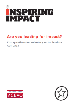 Leading for impact